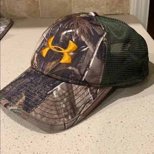 Under Armour Camouflage Hat *Never worn*